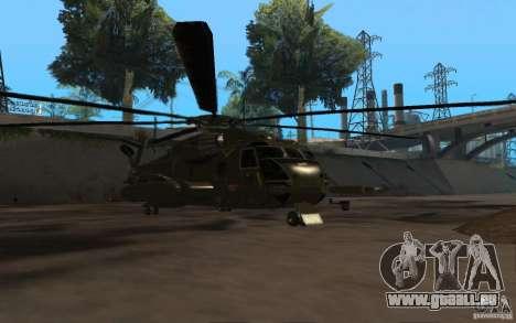 CH 53 pour GTA San Andreas sur la vue arrière gauche