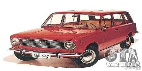Écrans de démarrage dans les voitures de l'URSS pour GTA San Andreas quatrième écran