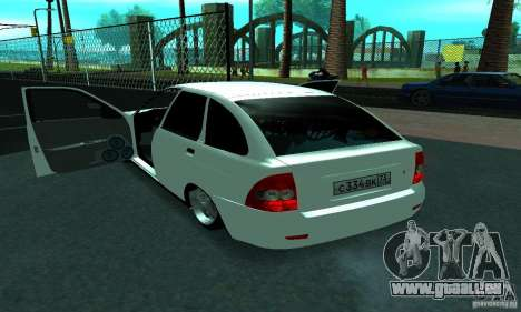Lada Priora Sport pour GTA San Andreas vue de côté
