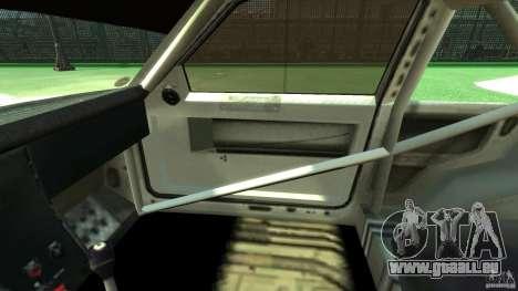 Audi Quattro Group B pour GTA 4 est une vue de l'intérieur