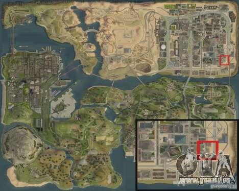Nouvelle station d'essence Shell pour GTA San Andreas sixième écran