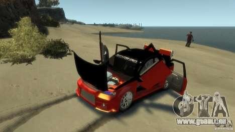 RENAULT LOGAN SPORT pour GTA 4 est une vue de l'intérieur