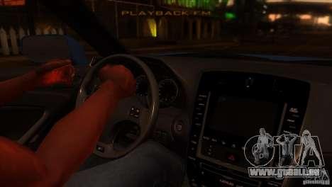 Lexus IS-F pour GTA San Andreas