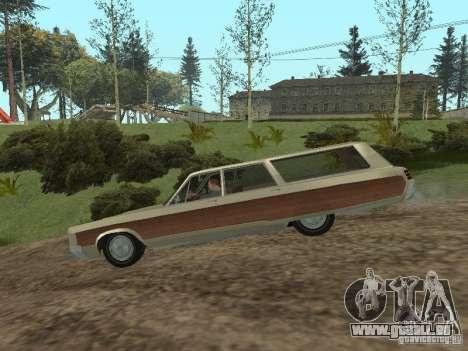 Chrysler Town and Country 1967 pour GTA San Andreas sur la vue arrière gauche