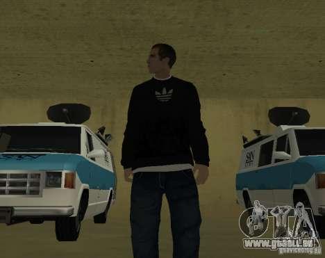 Journaliste italien pour GTA San Andreas deuxième écran