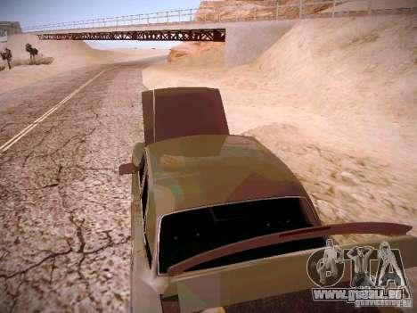 GAS-31025 für GTA San Andreas Innenansicht