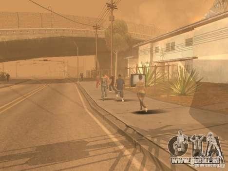 Tremblement de terre pour GTA San Andreas huitième écran