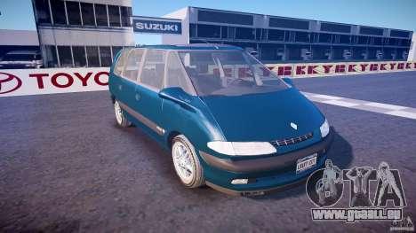 Renault Grand Espace III für GTA 4 Innenansicht