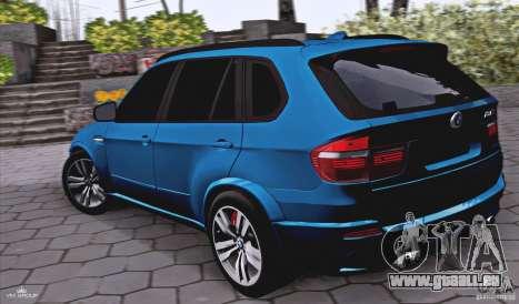BMW X5M 2013 v1.0 pour GTA San Andreas laissé vue