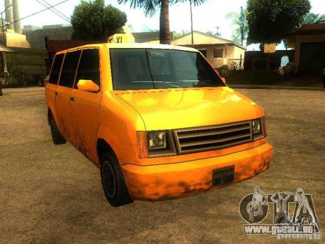Taxi Moonbeam für GTA San Andreas