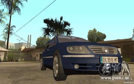 Volkswagen Phaeton 2005 pour GTA San Andreas vue arrière
