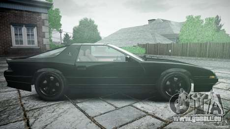 Ruiner KNIGHT RIDER Skin pour GTA 4 est une vue de l'intérieur