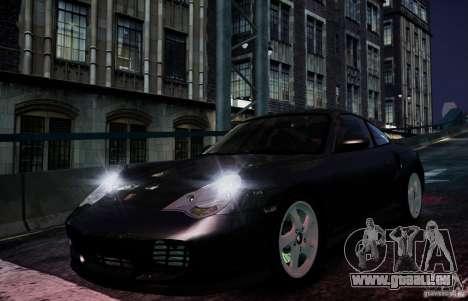 Porsche 911 Turbo S pour GTA 4 est une vue de l'intérieur