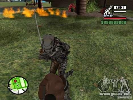 Predator für GTA San Andreas fünften Screenshot