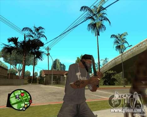 Couteau de Counter-strike pour GTA San Andreas troisième écran