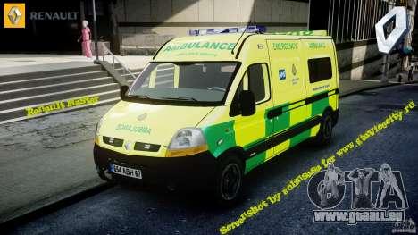Renault Master 2007 Ambulance Scottish [ELS] pour GTA 4
