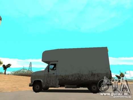 New Mule für GTA San Andreas linke Ansicht
