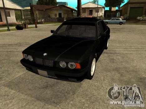 BMW e34 525 pour GTA San Andreas