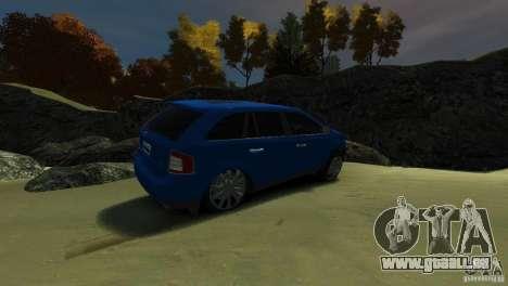 Ford Edge 2007 pour GTA 4 est un droit