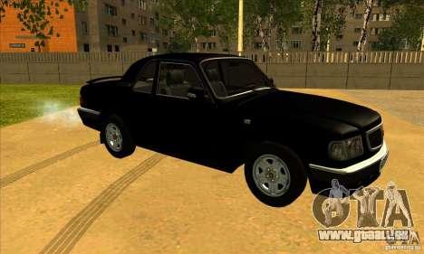 Volga GAZ 3110 berline pour GTA San Andreas laissé vue