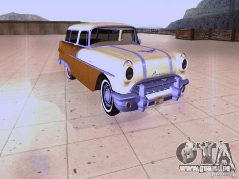 Pontiac Safari 1956 pour GTA San Andreas laissé vue