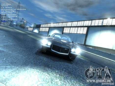 Chevrolet Camaro Z28 für GTA 4 rechte Ansicht