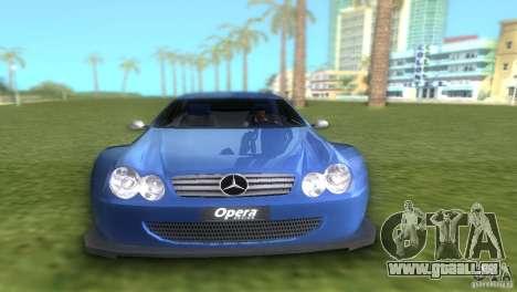 Mercedes-Benz CLK500 C209 pour une vue GTA Vice City de la droite