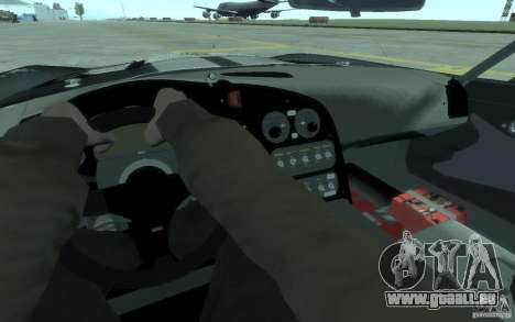 Dodge Viper Competition Coupe pour GTA 4 Vue arrière