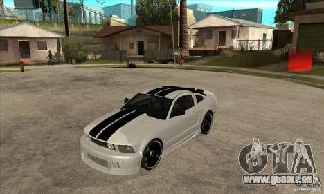 Ford Mustang für GTA San Andreas