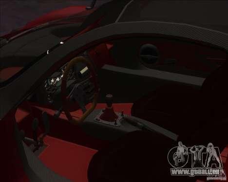 Pagani Zonda F für GTA San Andreas rechten Ansicht