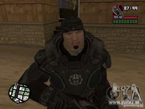 Marcus Fenix de Gears of War 2 pour GTA San Andreas