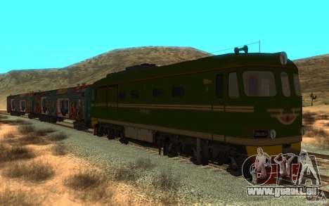 New Graffity Train pour GTA San Andreas
