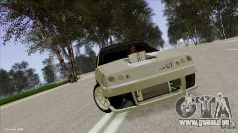 ВАЗ 2108 Sport pour GTA San Andreas vue de côté
