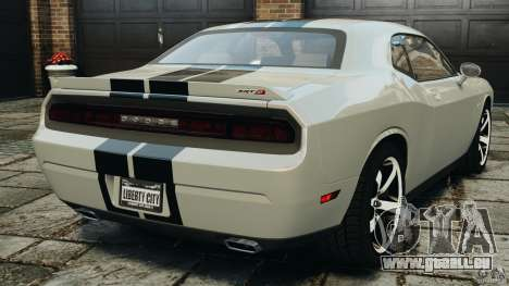 Dodge Challenger SRT8 392 2012 für GTA 4 hinten links Ansicht
