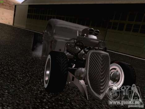 Ford Pickup Ratrod 1936 pour GTA San Andreas vue de droite