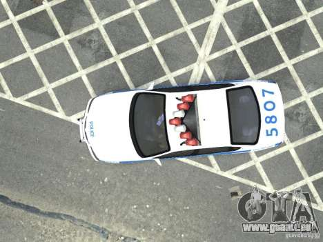 Chevrolet Impala NYCPD POLICE 2003 für GTA 4 Rückansicht