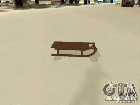 Luge v1 pour GTA San Andreas vue de droite