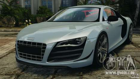 Audi R8 GT 2012 pour GTA 4