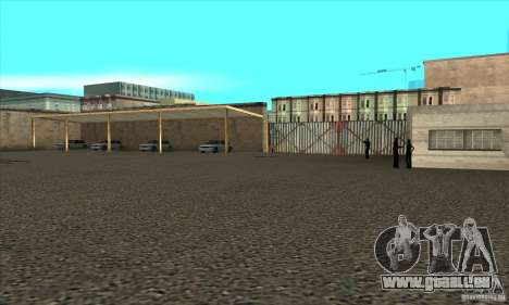 Erneuerung der Fahrschulen in San Fierro für GTA San Andreas her Screenshot