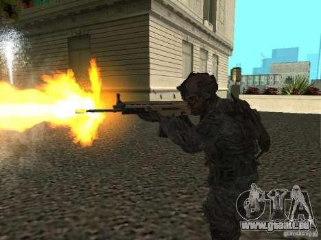 USA Army Ranger pour GTA San Andreas troisième écran