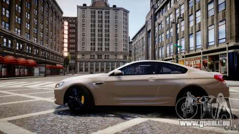 BMW M6 2013 pour GTA 4 Vue arrière de la gauche