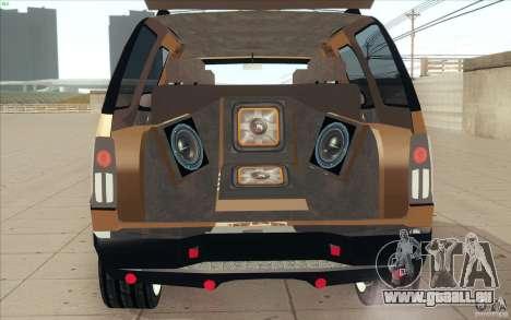 Cadillac Escalade 2004 für GTA San Andreas Innenansicht