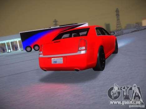 Chrysler 300C SRT8 2011 pour GTA San Andreas vue intérieure