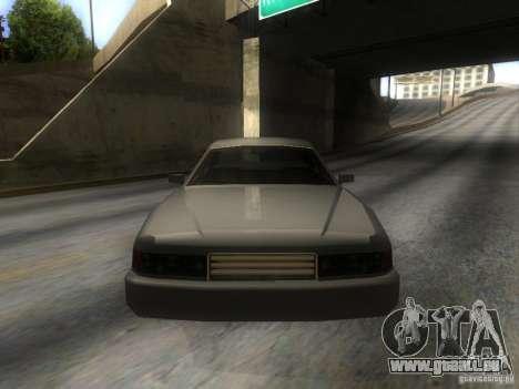 Merit Coupe pour GTA San Andreas vue arrière