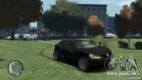 Volkswagen Concept pour GTA 4 est un droit