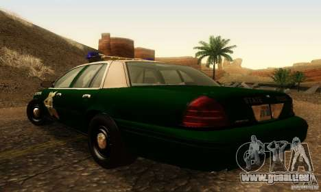 Ford Crown Victoria New Hampshire Police für GTA San Andreas linke Ansicht