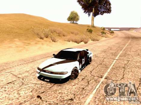 Nissan Silvia S14 Matt Powers 2012 pour GTA San Andreas