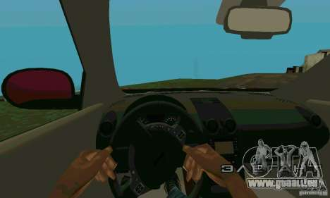 Nissan Juke für GTA San Andreas Rückansicht