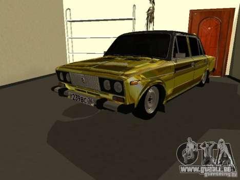 VAZ 2106 (Gold) für GTA San Andreas