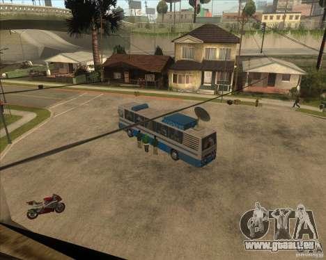 IKARUS 255 Tv pour GTA San Andreas laissé vue